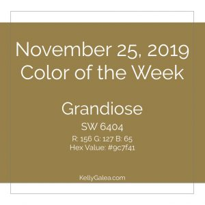 Color of the Week - November 25 2019