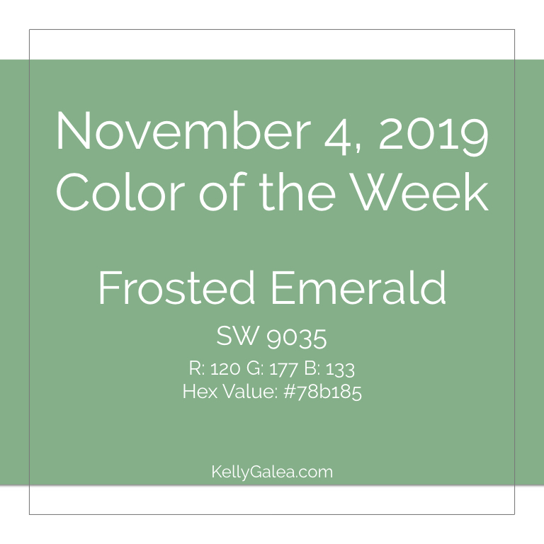 Color of the Week - November 4 2019