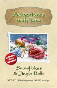 Snowflakes & Jingle Bells rooibos tea from Adventures with Tea