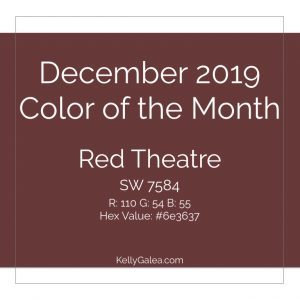 Color of the Month - December 2019