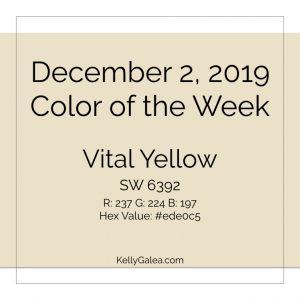 Color of the Week - December 2 2019