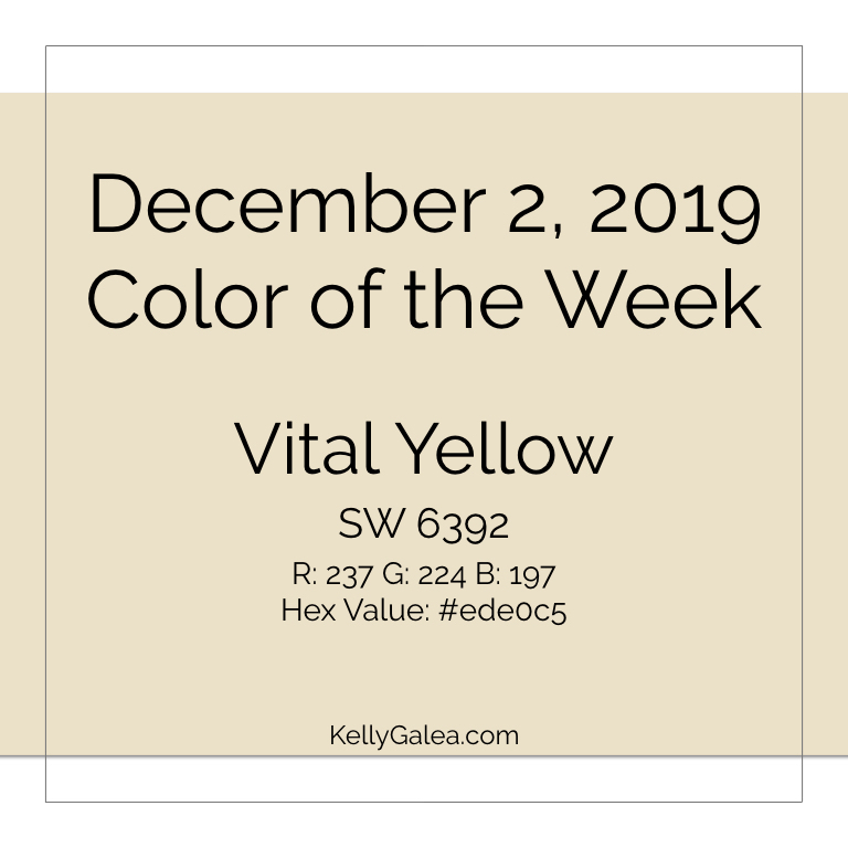 Color of the Week - December 2 2019