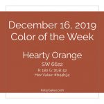 Color of the Week - December 16 2019