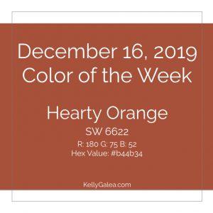 Color of the Week - December 16 2019