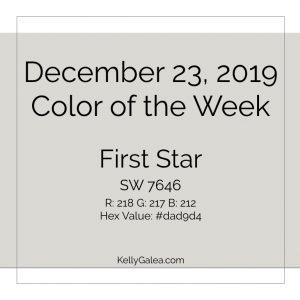 Color of the Week - December 23 2019