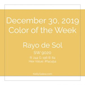 Color of the Week - December 30 2019