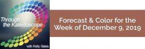Forecast & Color for the Week of December 9 2019