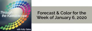 Forecast & Color for the Week of January 6 2020
