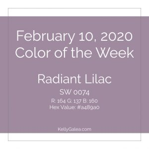 Color of the Week - February 10 2020