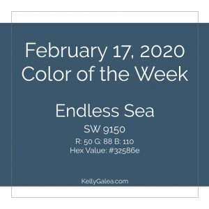 Color of the Week - February 17 2020