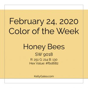 Color of the Week - February 24 2020