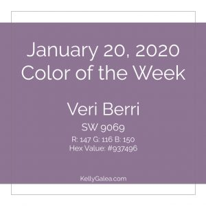 Color of the Week - January 20 2020