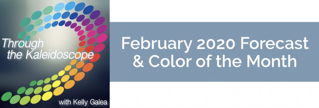 Forecast & Color for February 2020