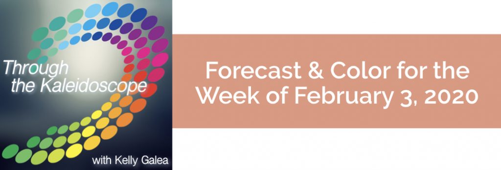 Forecast & Color for the Week of February 3, 2020