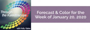 Forecast & Color for the Week of January 20 2020