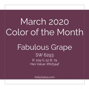Color of the Month - March 2020