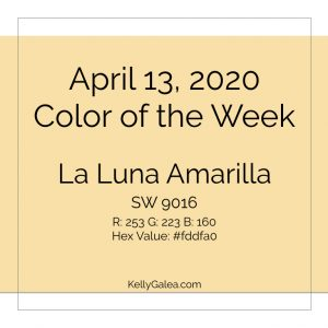 Color of the Week - April 13 2020