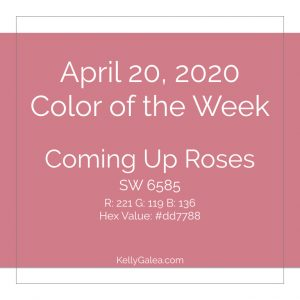 Color of the Week - April 20 2020