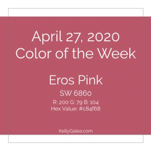 Color of the Week - April 27 2020