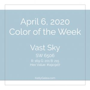 Color of the Week - April 6 2020