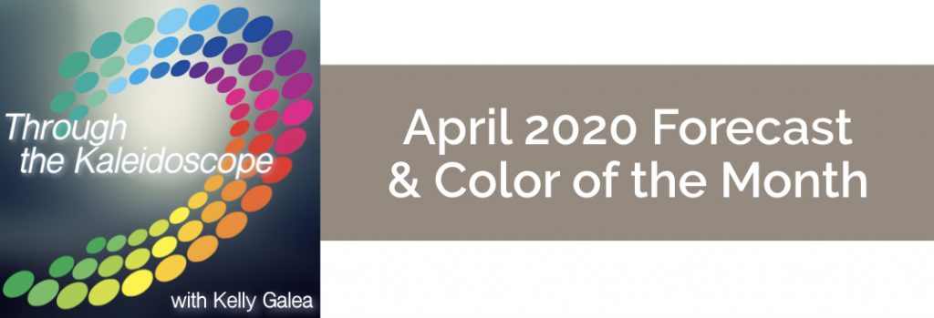 Forecast & Color for April 2020