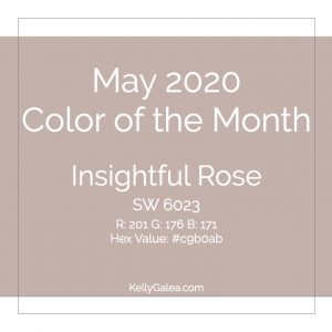 Color of the Month - May 2020