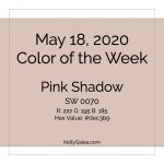 Color of the Week - May 18 2020