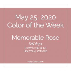 Color of the Week - May 25 2020