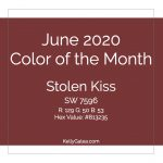 Color of the Month - June 2020