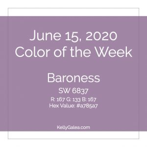 Color of the Week - June 15 2020