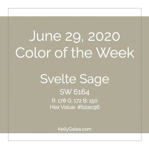 Color of the Week - June 29 2020