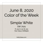 Color of the Week - June 8 2020
