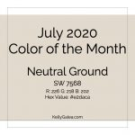 Color of the Month - July 2020
