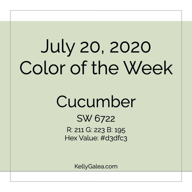 Color of the Week - July 20 2020