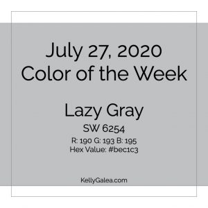 Color of the Week - July 27 2020