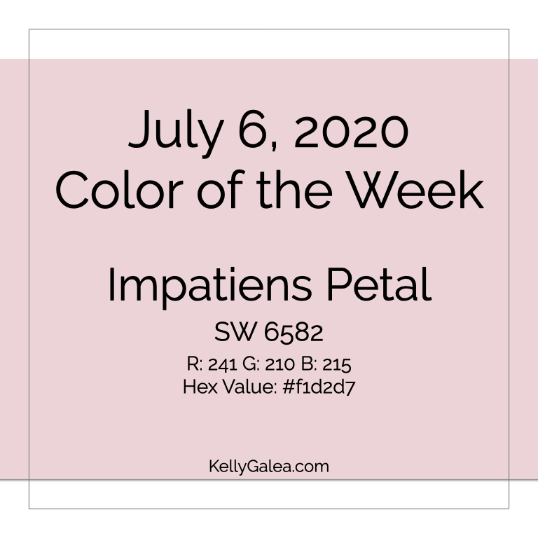 Color of the Week - July 6 2020