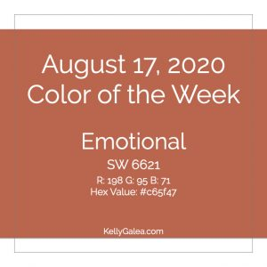 Color of the Week - August 17 2020