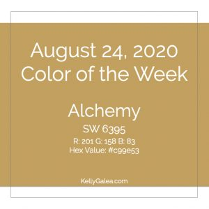 Color of the Week - August 24 2020
