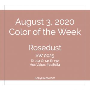 Color of the Week - August 3 2020
