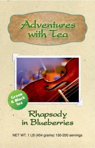 Rhapsody in Blueberries from Adventures with Tea