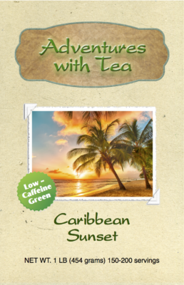 Caribbean Sunset from Adventures with Tea