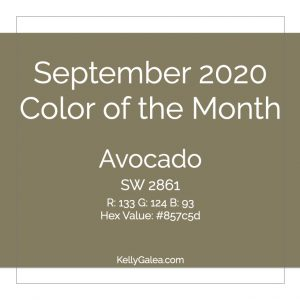Color of the Month - September 2020