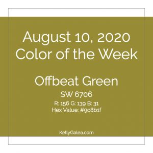 Color of the Week - August 10 2020