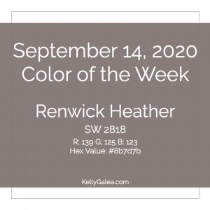 Color of the Week - September 14 2020