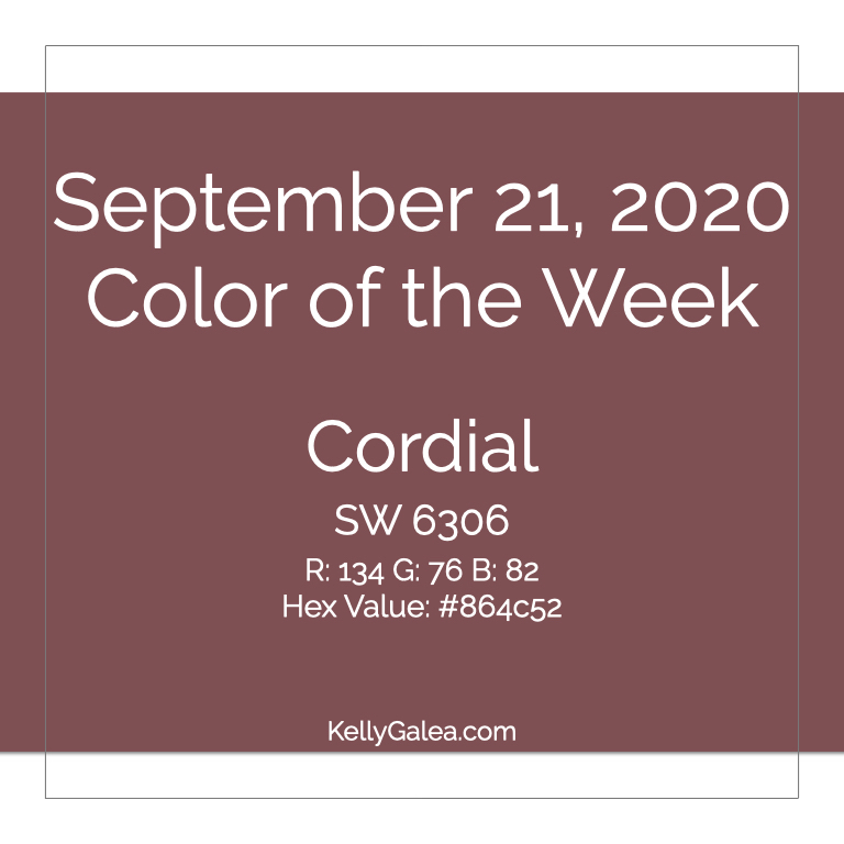 Color of the Week - September 21 2020