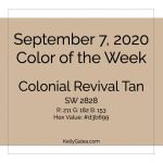 Color of the Week - September 7 2020