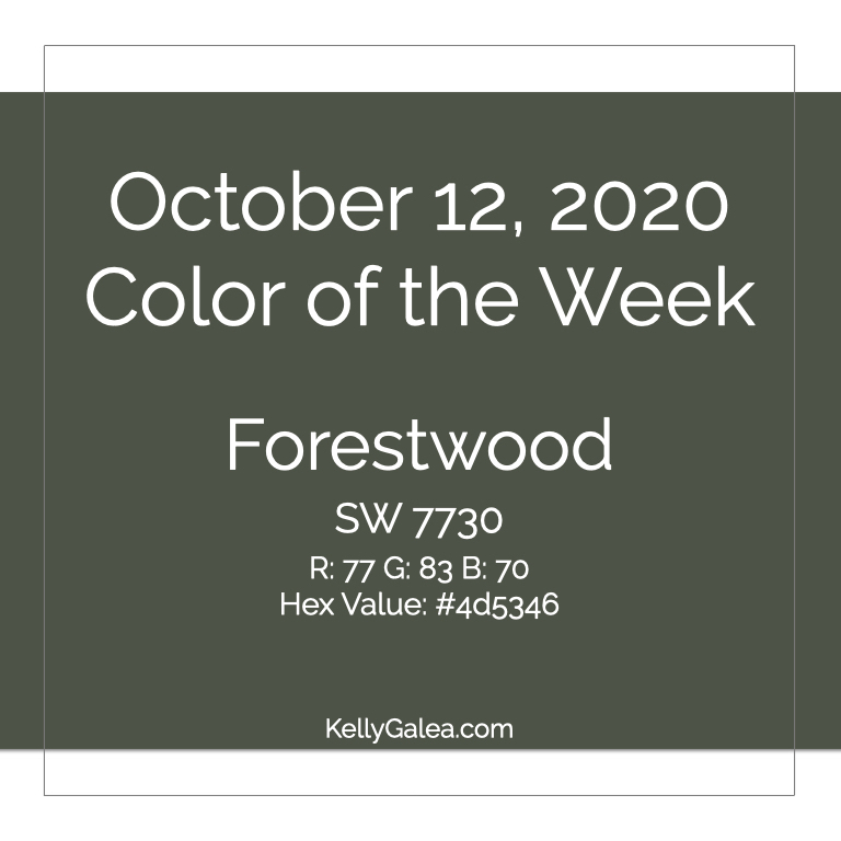 Color of the Week - October 12 2020
