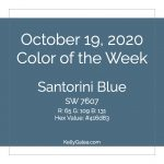 Color of the Week - October 19 2020