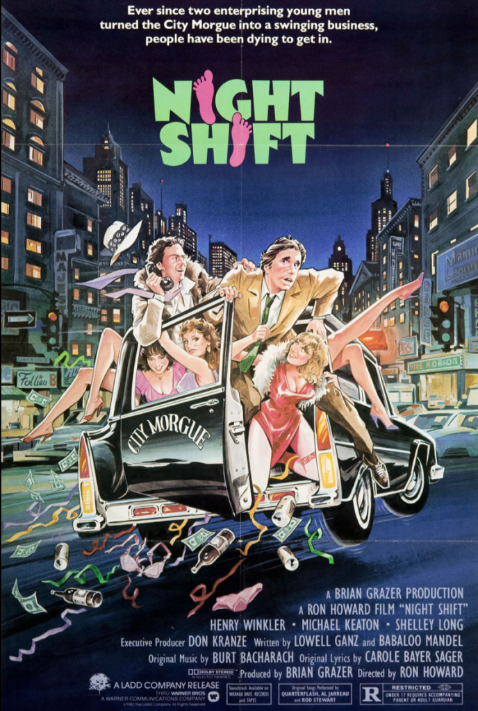 Night Shift - Warner Bros 1982