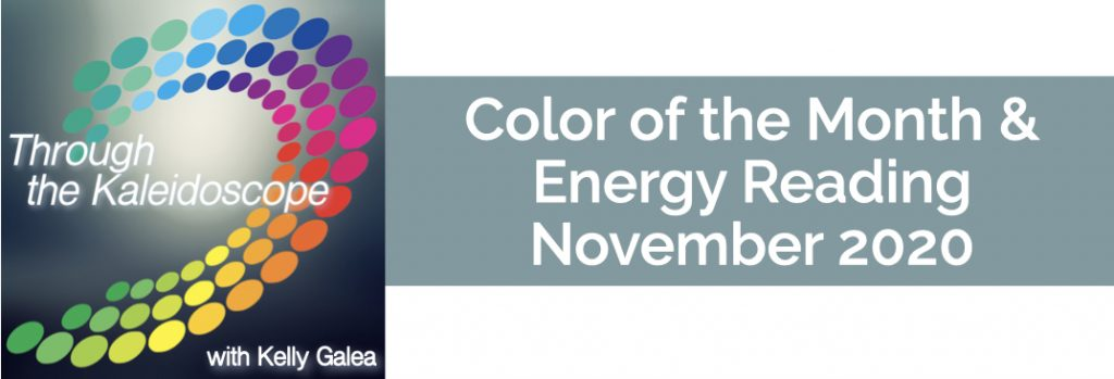 Color & Energy Reading for November 2020